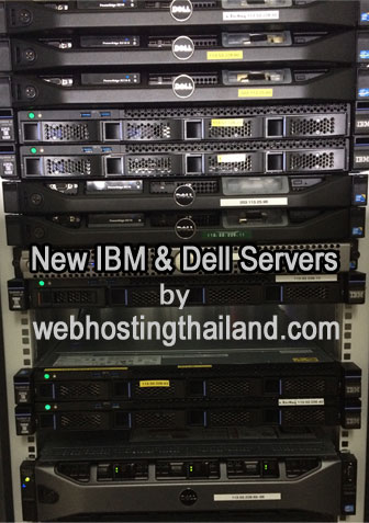 All New Web Hosting Thailand Servers