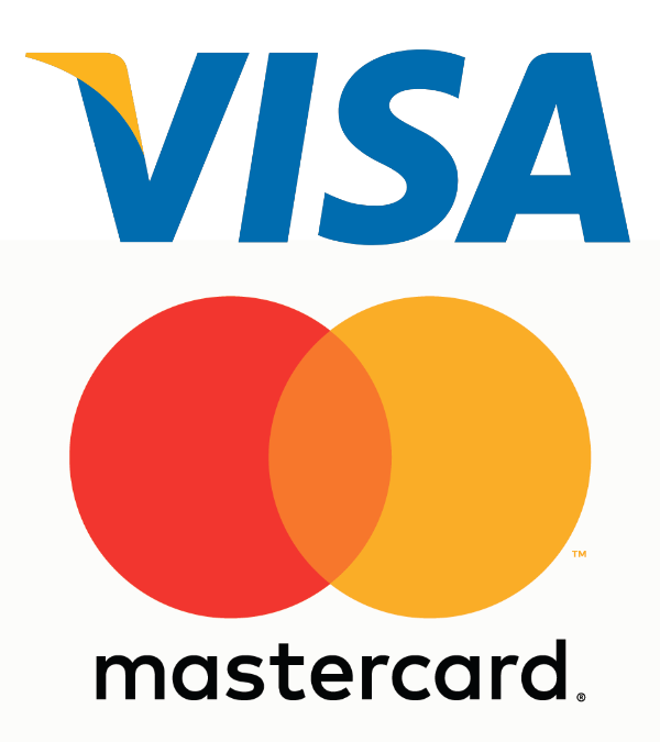 Visa and MasterCards